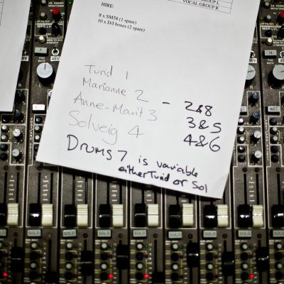 5 ways to get organised with your music making
