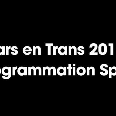 Bars en Trans 2018 : La programmation
