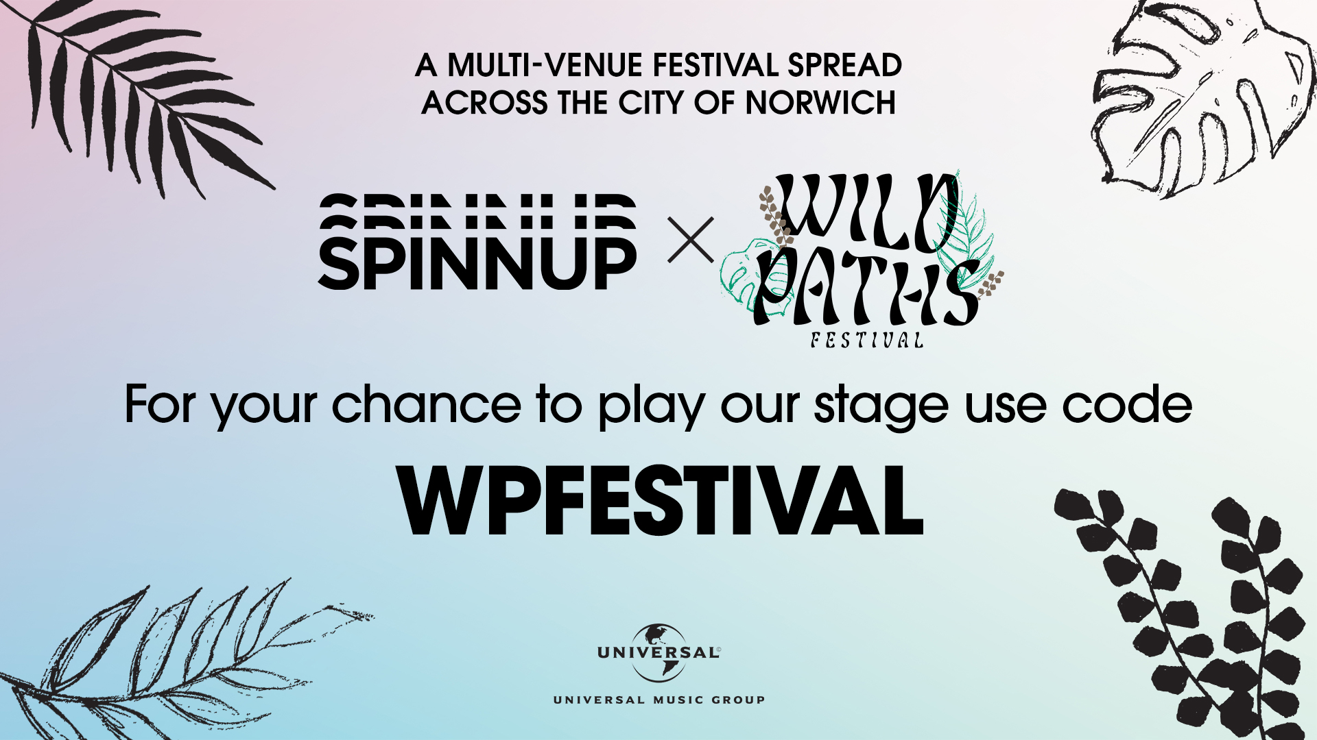 Play at Wild Paths Festival 2019 | Spinnup