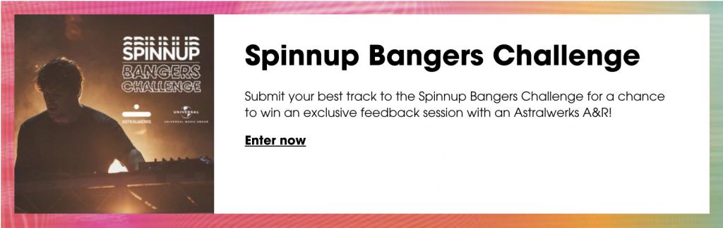 Spinnup Bangers Challenge Widget